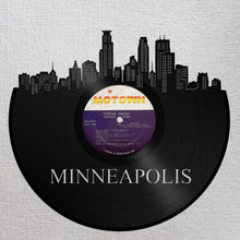 Minneapolis Art, Minnesota Wall Sign, Christmas Gift Ideas 2017, Mom Christmas Gifts Ideas, Unique Birthday Gift For Best Friend, Record Art - VinylShop.US