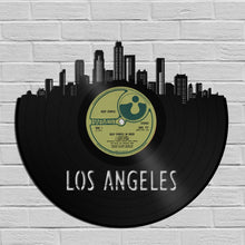 Los Angeles Skyline Vinyl Wall Art - VinylShop.US