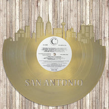 Skyline Wall Art - San Antonio Skyline, Cityscape, Vinyl Record Art,  Home Decor, San Antonio Wedding, Illustration, San Antonio record - VinylShop.US