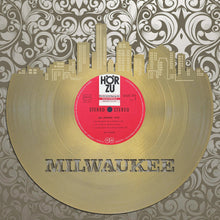 Vinyl Wall Art - Milwaukee Skyline, Cityscape, Vinyl Record Art,  Bachelor gift, Milwaukee Wedding, Illustration, Milwaukee record - VinylShop.US