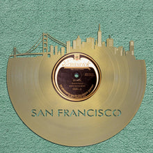 San Francisco Skyline Wall Art - VinylShop.US