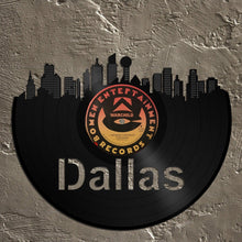 Dallas Skyline Wall Art - VinylShop.US