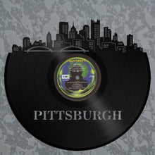 Pittsburgh Skyline Vinyl Wall Art - VinylShop.US