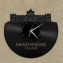 University Clock - Swarthmore College,  Wall Clock, School Clock, Unique Clock, Desk Clock, Large Wall Clock, Modern Clock - VinylShop.US