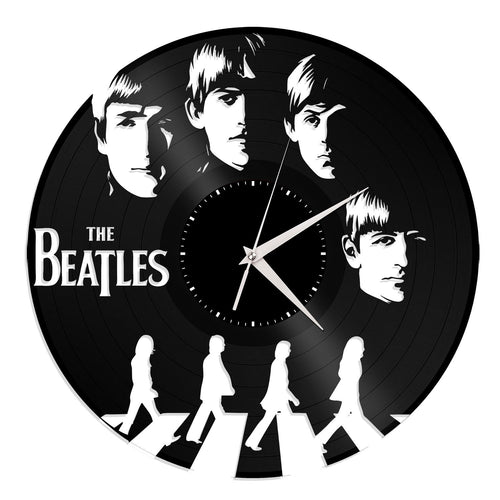 The Beatles Vinyl Wall Clock - VinylShop.US