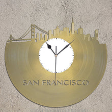 San Francisco Skyline Wall Clock - VinylShop.US