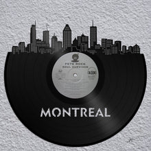Montreal Skyline - Skyline Wall Decor, Montreal Cityscape, Personalized Wedding Gift, Birthday Gift, Anniversary Gift, Canada Gift, Montreal - VinylShop.US