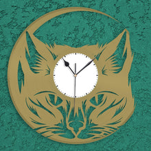 Cat Lover Vinyl Wall Clock - VinylShop.US