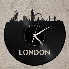 London Skyline Vinyl Wall Clock - VinylShop.US
