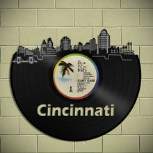 Cincinnati Skyline Vinyl Wall Art - VinylShop.US