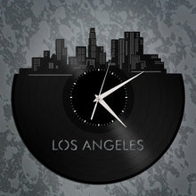 Los Angeles Skyline Vinyl Wall Clock - VinylShop.US
