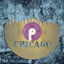Retro Album Art, Chicago Skyline, Hip Wall Art, Personalized Record, Chicago Cubs, Wall Hanging, Custom Record, Chicago Art Skyline - VinylShop.US