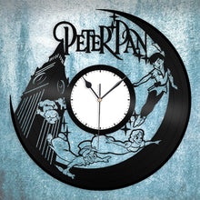 Peter Pan Big Ben Clock, Nursery Wall Clock, Kids Room Clock, Gift for Kids, Vinyl Wall Clock, Decorative Wall Art, Neverland Wall Decor - VinylShop.US