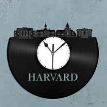 Harvard Skyline Vinyl Wall Clock - VinylShop.US
