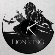 Lion King Vinyl Wall Clock - VinylShop.US