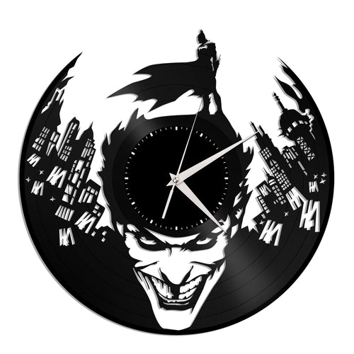 Batman Joker Vinyl Wall Clock - VinylShop.US