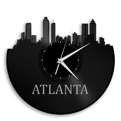Atlanta Vinyl Wall Clock - VinylShop.US