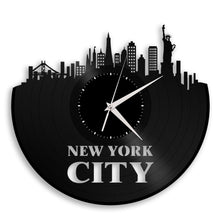 New York City Skyline Wall Clock - VinylShop.US