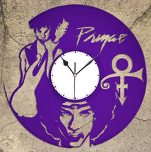 Prince Clock Roger Nelson Vinyl Wall Art Decoration, Personalized GIft Idea for Music Lovers, Custom Wall Decor From Repurposed Record - VinylShop.US