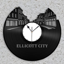 Ellicott Vinyl Wall Clock - VinylShop.US