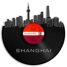 Eco Friendly Art, Shanghai Art, Shanghai Skyline, Chinese Home Decor, Eco Gift For Her, Chinese Birthday Gifts, Eco-Friendly Gifts, Eco Art - VinylShop.US