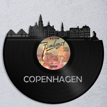 Copenhagen Skyline Wall Art - VinylShop.US
