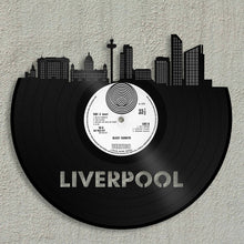 Liverpool Skyline Vinyl Wall Art - VinylShop.US