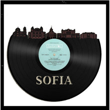 Sofia Skyline Vinyl Wall Art