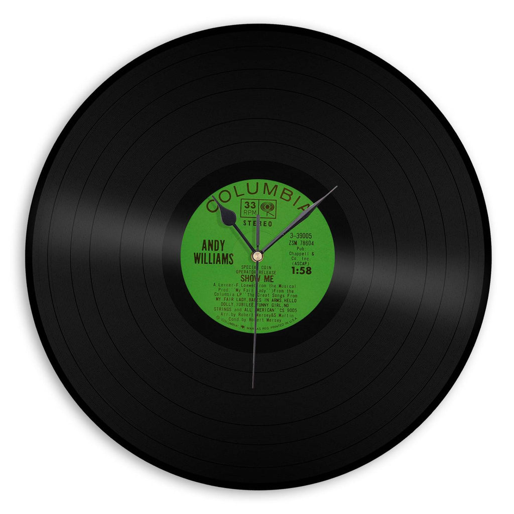 Playable Record Vinyl Wall Clock Vinylshop Us