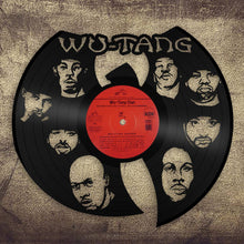 Rap Gifts, Wu Tang Clan Art, Raekwon, Method Man, RZA GZA Ghost Killah Vinyl Record Repurposed, Hip Hop Gifts, DJ Gifts, Dad In Law Gift - VinylShop.US
