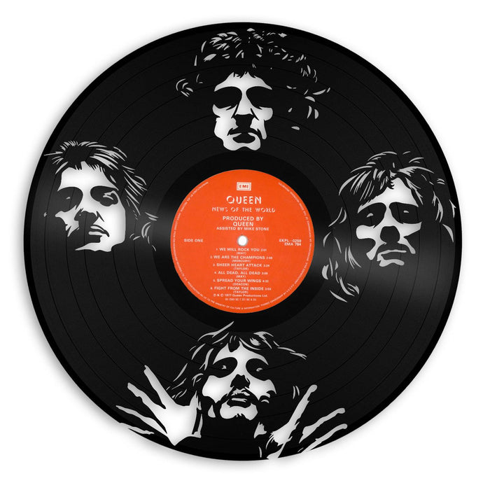 Queen Band Vinyl Wall Art - VinylShop.US