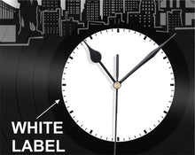 Milan Skyline Wall Clock - VinylShop.US
