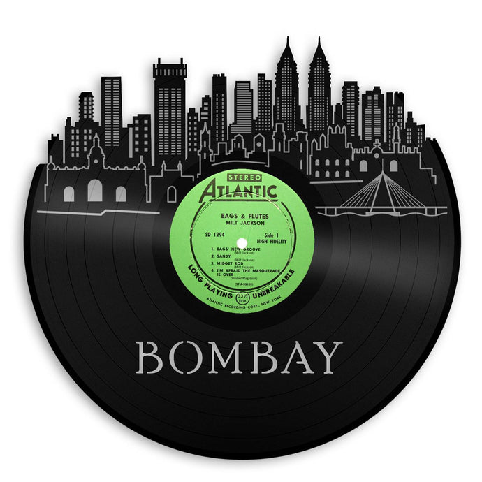 Bombay Skyline Wall Art - VinylShop.US