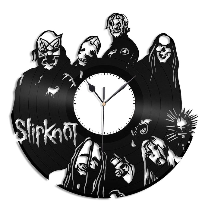 Slipknot Clock Music Clock Vinyl Record Clock Slipknot Lover Gift Unique Wall Clock Music Band Clock Gift For Him Metal Music Gift Slipknot - VinylShop.US