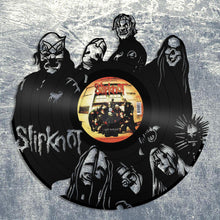 Slipknot Wall Art Heavy Metal Wall Art Music Wall Art Old Record Wall Art Vinyl Sign Slipknot Lover Gift Record Decor Slipknot Fan Gift - VinylShop.US
