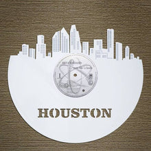 Houston Skyline Vinyl Wall Art - VinylShop.US