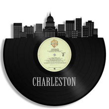 Charleston Skyline Vinyl Wall Art - VinylShop.US