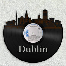 Travel Gifts For Friend, Travel Gifts For Aunt, Travel Gifts For BFF, Dublin Art, Irish Art, Dublin Ireland Skyline Art, Custom Gift For Dad - VinylShop.US