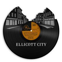 Ellicott City Skyline, Maryland Art, Cool Gifts For Teens, For Guys, Best Gifts For Parents, Top 10 Gifts For Women, For Men, For Kids Decor - VinylShop.US