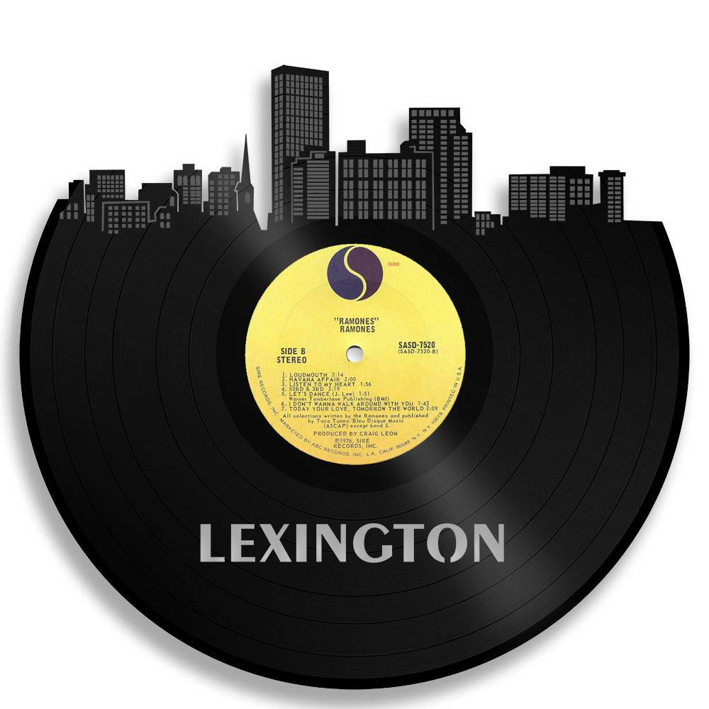 Lexington Skyline Vinyl Wall Art - VinylShop.US