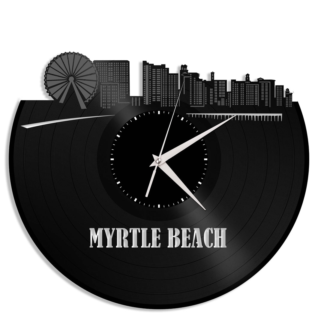 Myrtle Beach Wall Clock - VinylShop.US