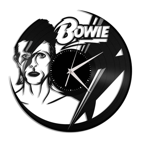 David Bowie Wall Clock - VinylShop.US