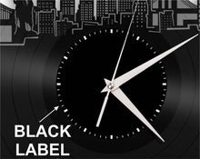 Vinyl Record Clock - Spokane Wall Clock, Cityscape Clock, Vinyl Record Clock,Unique Wall Clock,  Large Wall Clock, Vinyl Clock, Record Clock - VinylShop.US