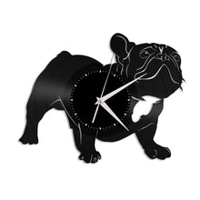 French Bulldog Vinyl Wall Clock - VinylShop.US