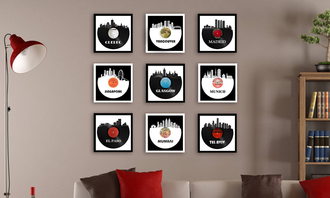 Vinyl Record Wall Art