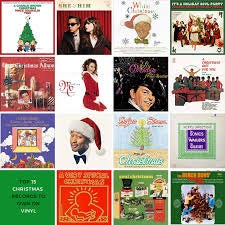 Christmas Vinyl Records Random Lot LPs, 12