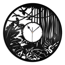 Jungle Forest Vinyl Wall Clock