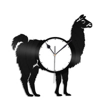 Lama Vinyl Wall Clock