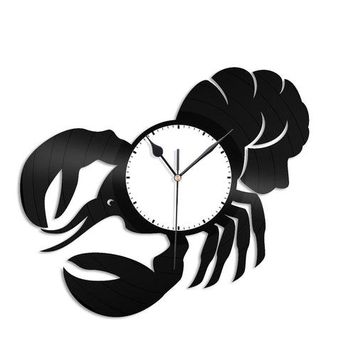 Lobster Wall Clock - VinylShop.US