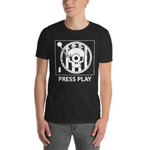 Skull Press Play Turntable T-Shirt - VinylShop.US